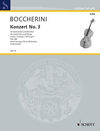 HAL LEONARD Boccherini, Luigi: Concerto  No.3 in G (cello & piano)