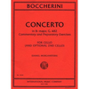 International Music Company Boccherini: Concerto in Bb, Commentary & Preparatory Exercises (cello)
