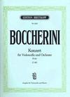 Boccherini, Luigi (Fritzsch): Cello Concerto in Bb (cello & piano)
