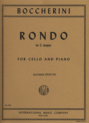 International Music Company Boccherini, Luigi: Rondo in C major (cello & piano)