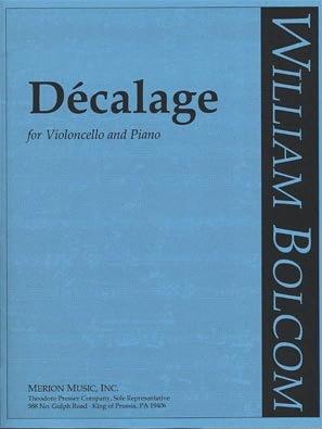 Carl Fischer Bolcom, William: Decalage (cello & piano)