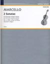 Marcello, Benedetto (Darmstadt): 2 Sonatas No.1 in F & No.4 in G minor
