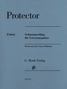 HAL LEONARD Henle Plastic Protector for Urtext Editions