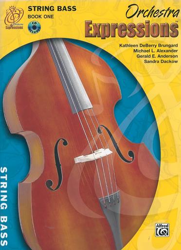 Alfred Music Brungard, K.D.: Orchestra Expressions, Book 1 (bass & CD)
