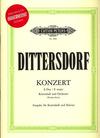 C.F. Peters Dittersdorf, K.D. (Tischer-Zeitz): Bass Concerto in E major (bass & piano or CD)