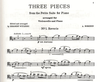 LudwigMasters Borodin, Alexander: Three Pieces from Petite Suite (cello & piano)