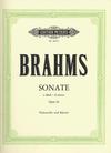 C.F. Peters Brahms, Johannes (Klengel): Sonata No.1 Op.38 in E minor (cello & piano)
