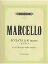 Marcello, B.: Sonata Op.2 No.4 in g minor (cello & piano)