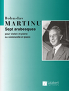 HAL LEONARD Martinu, Bohuslav: 7 Arabesques (cello & piano)