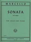 International Music Company Marcello, Benedetto (Schroeder): Sonata in E minor (cello & piano)