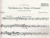 HAL LEONARD Martinu, Bohuslav: Variations on a Theme of Rossini (cello & piano)