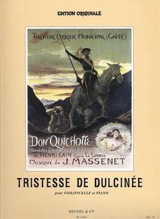 Massenet, Jules: Don Quichotte-Tristesse de Dulcinee (cello & piano)