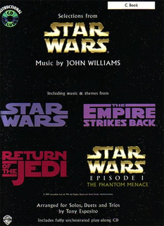 Alfred Music Williams, J. (Esposito, arr.): Star Wars Selections (violin and CD)