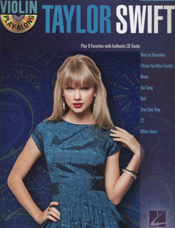 HAL LEONARD Taylor Swift Violin Play Along-Play 8 Favorites with Authentic CD Tracks