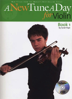 Boston Music Company Pope, Sarah: A New Tune A Day for Violin Bk.1 (violin, CD)