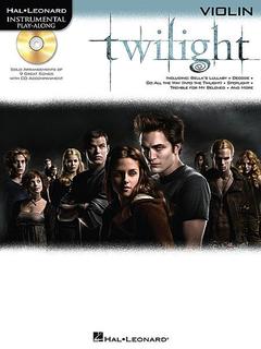 HAL LEONARD Twilight (Violin & CD)