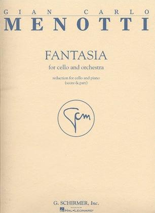HAL LEONARD Menotti, Giancarlo: Fantasia (cello & piano)