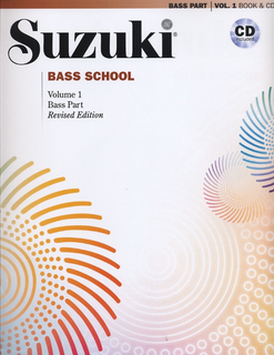 Alfred Music Suzuki: Bass School, Vol.1 (bass & CD) revised edition