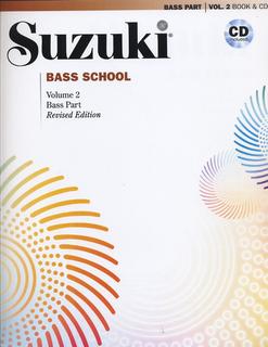Alfred Music Suzuki: Bass School, Vol.2 (bass & CD) revised edition