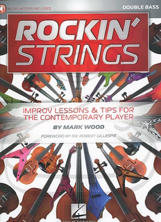 HAL LEONARD Wood: Rockin' Strings (bass)(audio access) Hal Leonard