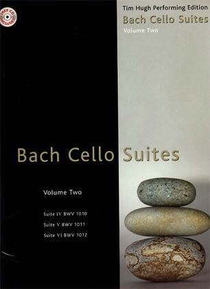 Bach, J.S.: Cello Suites Vol.2 (4-6) Tim Hugh performance CD included
