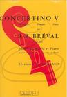 Edition Delrieu Breval (Feuillard): Concertino No.5 in D Major (cello & piano) Edition Delrieu