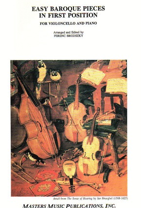LudwigMasters Brodszky, F. (arr): Easy Baroque Pieces in 1st Position (cello & piano)