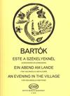 HAL LEONARD Bartok, Bela: Evening at the Village, Slovak Peasant's Dance (Cello & Piano)