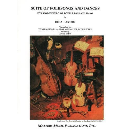 LudwigMasters Bartok, Bela (Drew): Folksong Suite (Cello & piano)