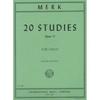 International Music Company Merk (Klengel): 20 Studies, Op.11 (cello) International