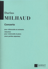 HAL LEONARD MIlhaud, D.: Cello Concerto No.1 (cello & piano)