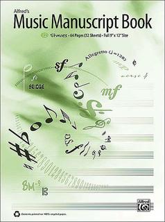 Alfred Music Alfred's Music Manuscript Book (12 stave)