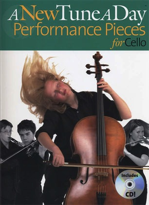 Bennet, Ned: A New Tune A Day Performance Pieces for Cello (cello & CD)