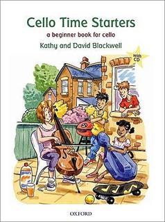 Oxford University Press Blackwell: Cello Time starters-a beginning book for cello (cello & CD)