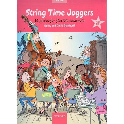 *out of print* Blackwell: String Time Joggers-14 Pieces for Flexible Ensemble (cello/CD)