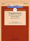 Carl Fischer Bloch, Ernest: Supplication from Jewish Life (cello & piano with CD accompaniment)