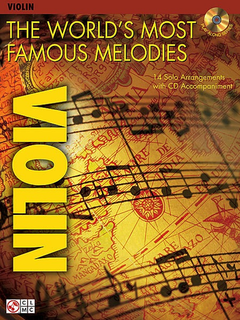 HAL LEONARD The World's Most Famous Melodies (violin & CD)