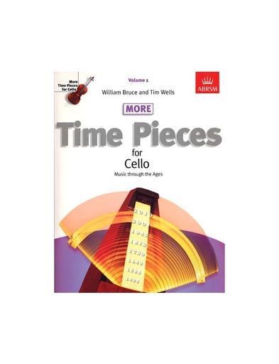 Bruce, William: More Time Pieces for Cello Vol. 1 (cello & piano)