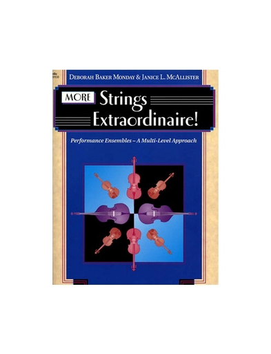 Monday, McAllister, Frost: More Strings Extraordinaire (2 cellos)