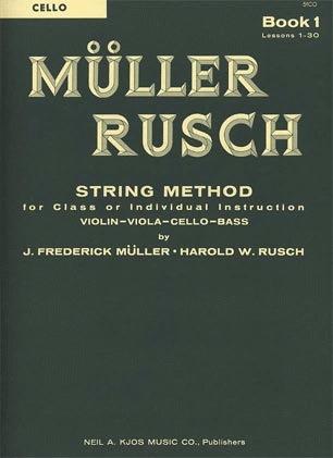 Muller, J.F. & Rusch, H.W.: String Method, Bk.1 (cello)