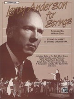 Alfred Music Anderson, L. (Zinn, arr.): For Strings (score)