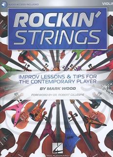 HAL LEONARD Wood: Rockin' Strings (violin)(audio access) Hal Leonard