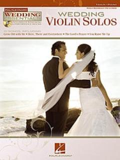 HAL LEONARD Wedding Violin Solos (violin, piano, CD)