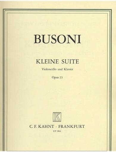 Busoni, Ferruccio: Kleine Suite Op.23 (cello & piano)