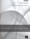 HAL LEONARD Cacavas, John: Poem (cello & piano)