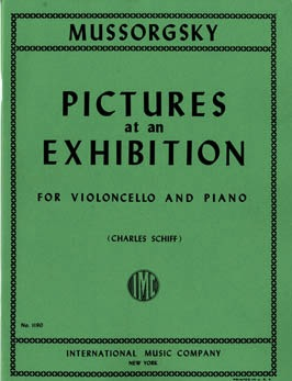 International Music Company Mussorgsky, Modeste: Pictures at an Exhibition (cello & piano)POD