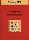 Carl Fischer Nigg, Serge: Duo Elegiaque (cello & piano)