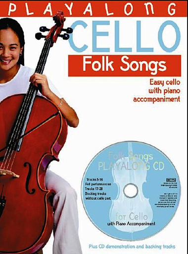 Bosworth Gedge, David: Playalong Cello Folk Songs-Easy Cello (cello, CD, Piano)