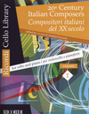 HAL LEONARD Cavuoto, Andrea (editor): 20th Century Italian Composers, Vol. 1 (cello & piano)