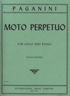 International Music Company Paganini, Niccolo (Klengel/Rose): Moto Perpetuo Op.11 (Cello & Piano)